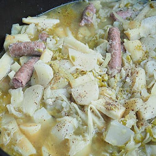 Soupe des paysans béarnais