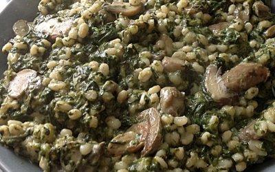 Espinarde – Brouet d'épinards
