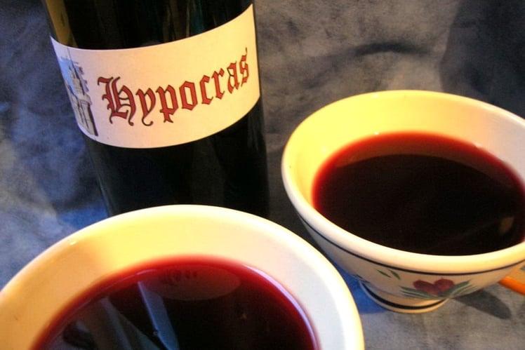 Hypocras sans cuisson (Vin rouge aux épices)