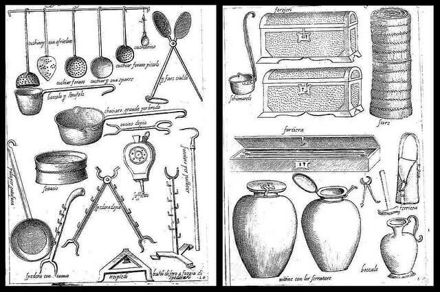 Instruments de cuisine 1