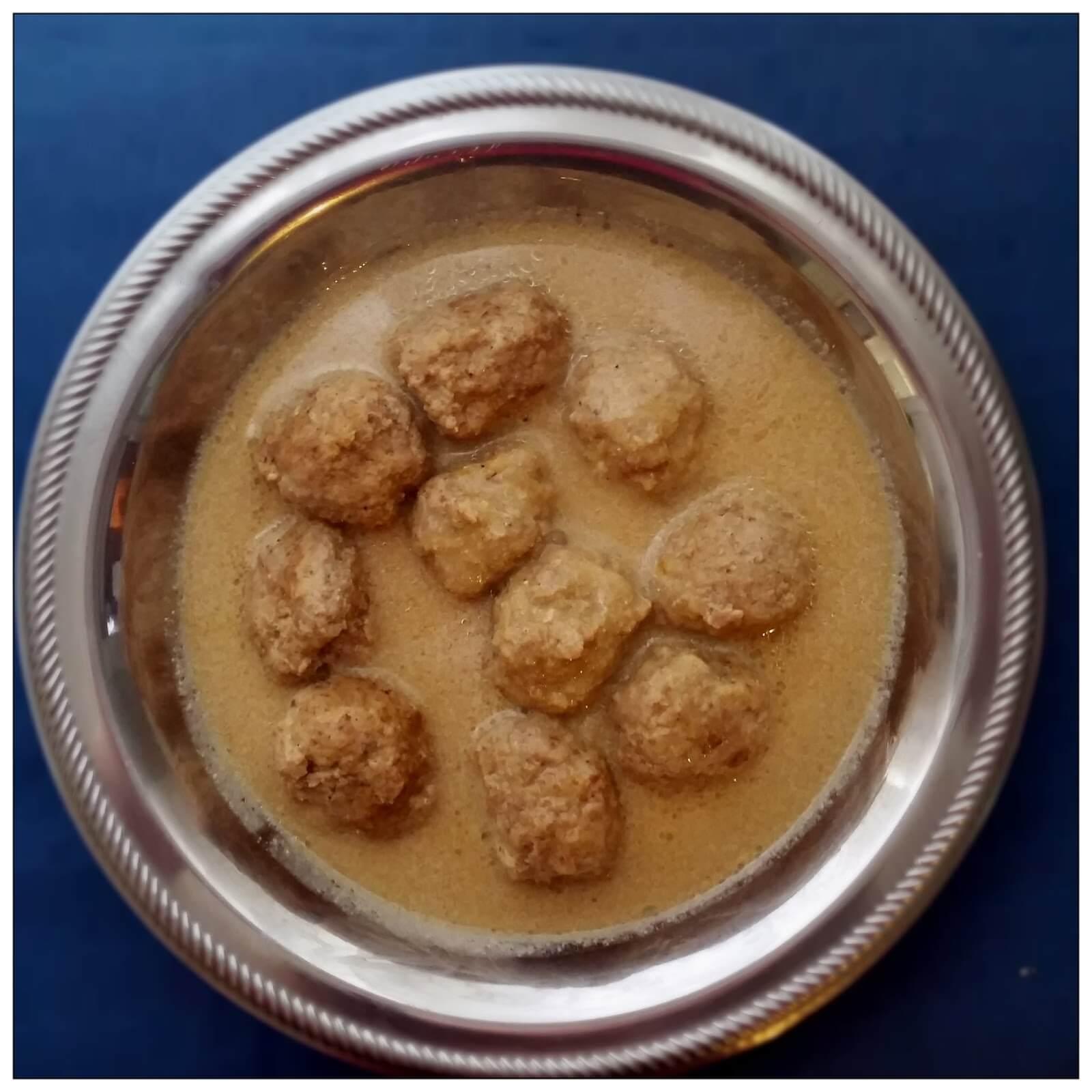 Boulettes de viande au lait d'amandes – Pompys