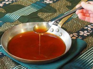 Sauce au miel pour salade
