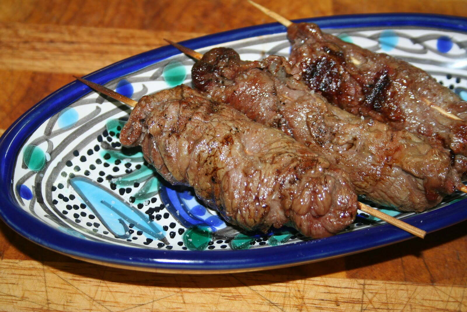 Roulés de veau ou de toute autre bonne viande selon Maestro Martino