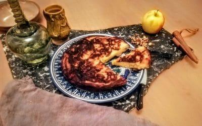 Poumes ammolee – Gâteau moelleux aux pommes