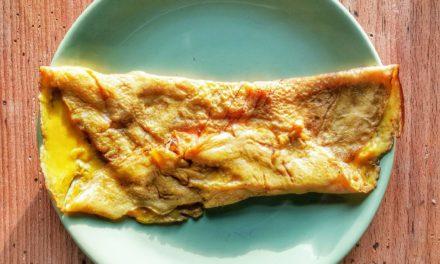 Omelette caramélisée – Alumelle frite au sucre d'après le Ménagier de Paris XIV°