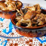 Champignons des Montagnes Sautés – Selon le Libro di cucina del secolo XIV