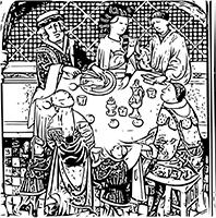 Le repas au Moyen Âge